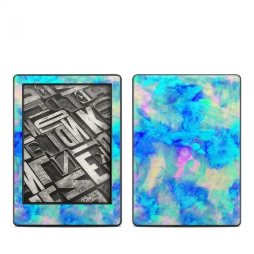 Electrify Ice Blue Amazon Kindle 8th Gen Skin