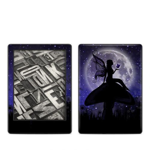 Moonlit Fairy Amazon Kindle 8th Gen Skin