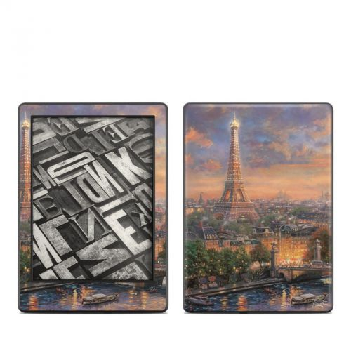 Paris City of Love Amazon Kindle 8th Gen Skin