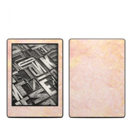 Rose Gold Marble Amazon Kindle 8th Gen Skin