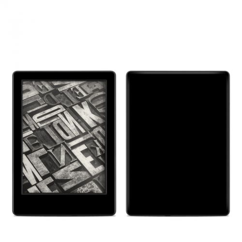 Solid State Black Amazon Kindle 8th Gen Skin