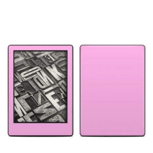 Solid State Pink Amazon Kindle 8th Gen Skin