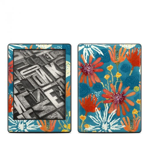 Sunbaked Blooms Amazon Kindle 8th Gen Skin