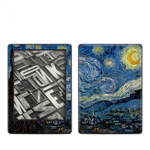 Starry Night Amazon Kindle 8th Gen Skin