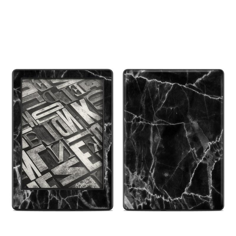 Black Marble Amazon Kindle 8th Gen Skin