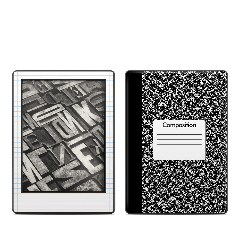 Composition Notebook Amazon Kindle 8th Gen Skin