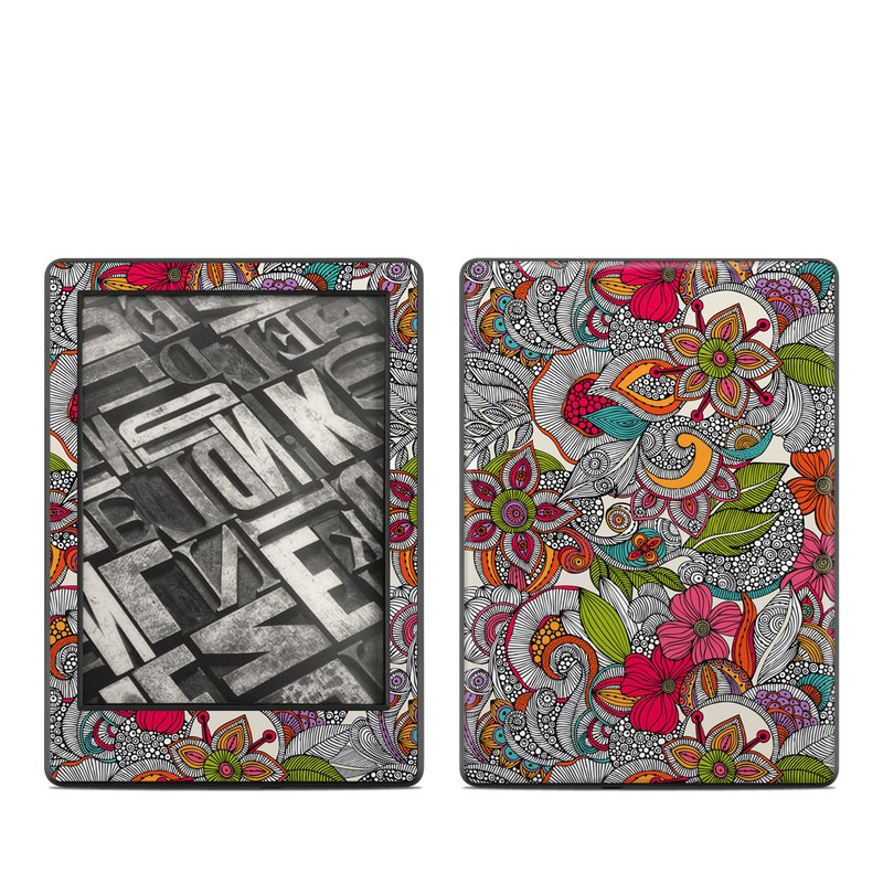 Doodles Color Amazon Kindle 8th Gen Skin