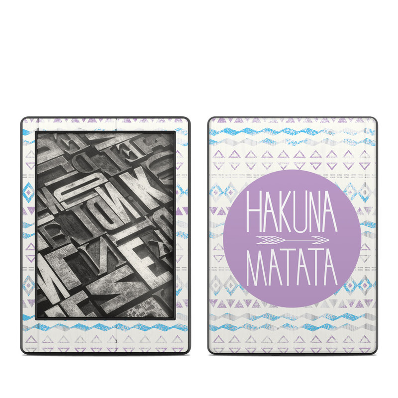Hakuna Matata Amazon Kindle 8th Gen Skin