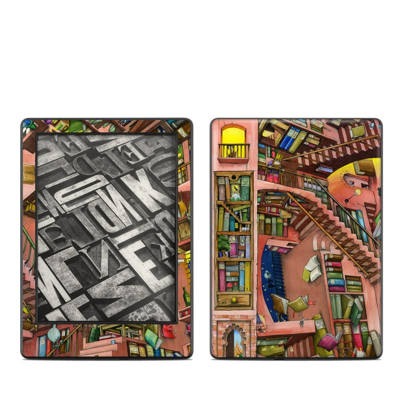 Library Magic Amazon Kindle 8th Gen Skin