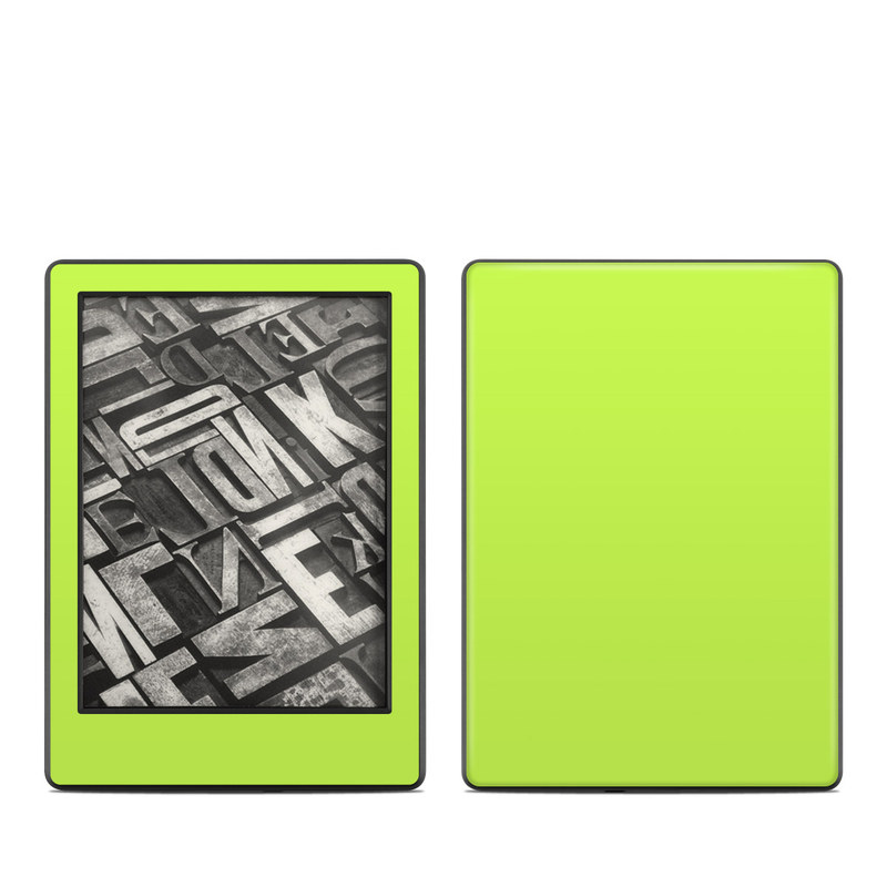 Solid State Lime Amazon Kindle 8th Gen Skin