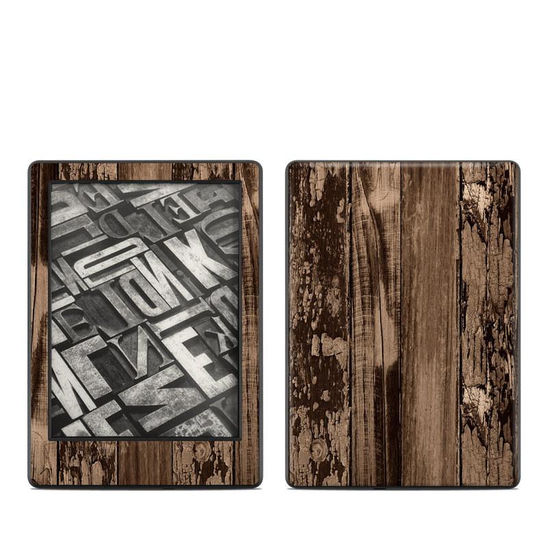 Weathered Wood Amazon Kindle 8th Gen Skin