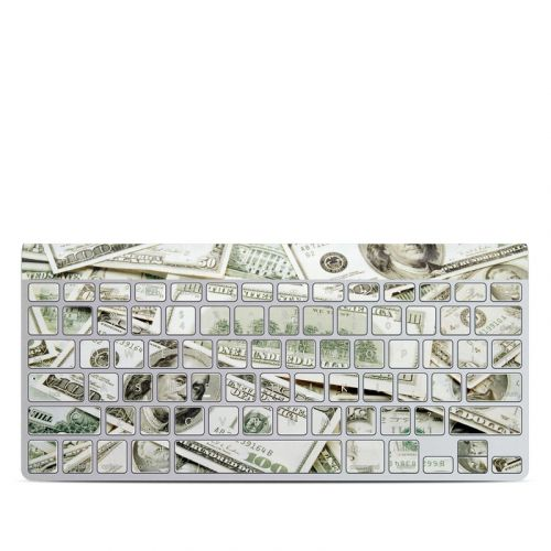 Benjamins Apple Wireless Keyboard Skin