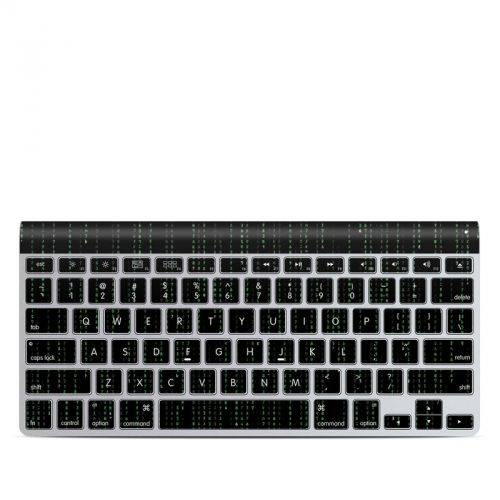 Matrix Style Code Apple Wireless Keyboard Skin