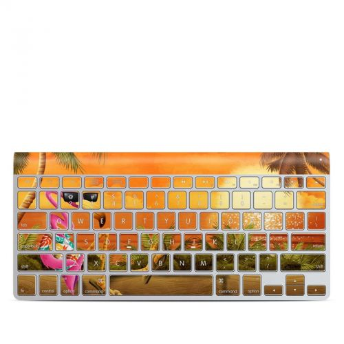 Sunset Flamingo Apple Wireless Keyboard Skin