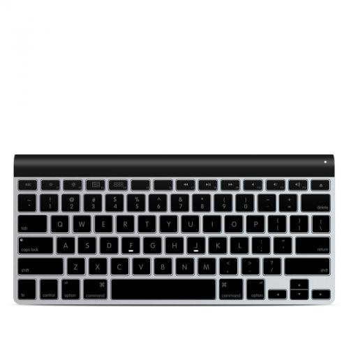Solid State Black Apple Wireless Keyboard Skin