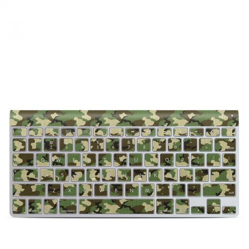 Woodland Camo Apple Wireless Keyboard Skin