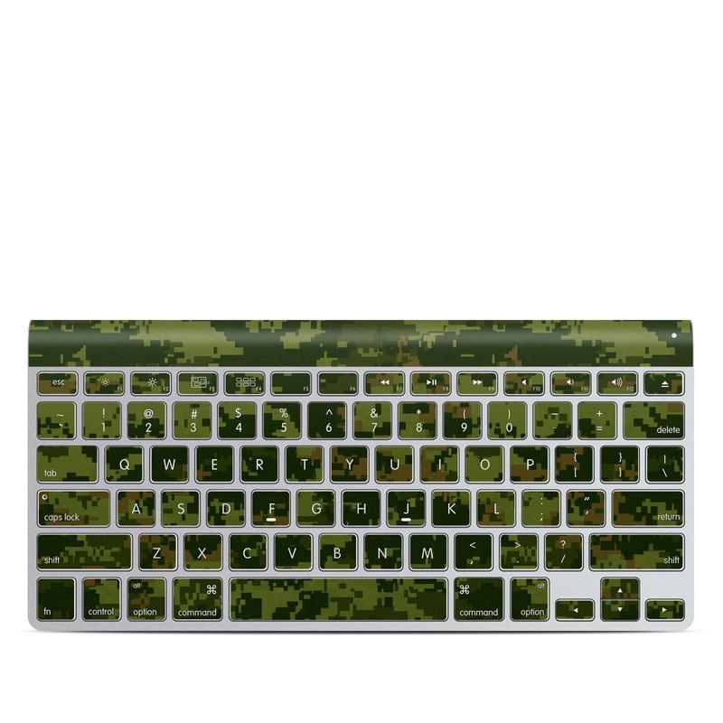 CAD Camo Apple Wireless Keyboard Skin