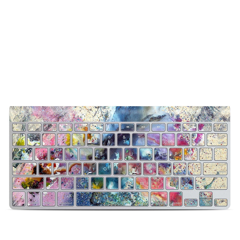 Cosmic Flower Apple Wireless Keyboard Skin
