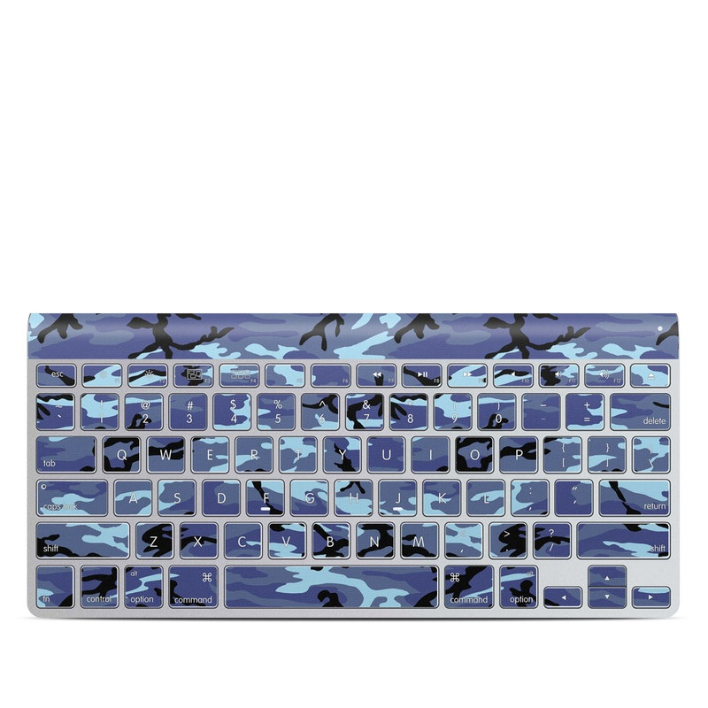 Sky Camo Apple Wireless Keyboard Skin