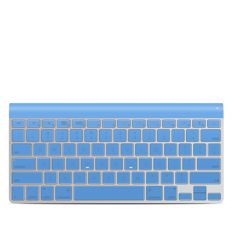 Apple Wireless Keyboard Skin design of Sky, Blue, Daytime, Aqua, Cobalt blue, Atmosphere, Azure, Turquoise, Electric blue, Calm with blue colors