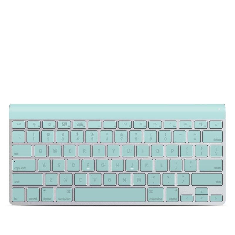 Solid State Mint Apple Wireless Keyboard Skin