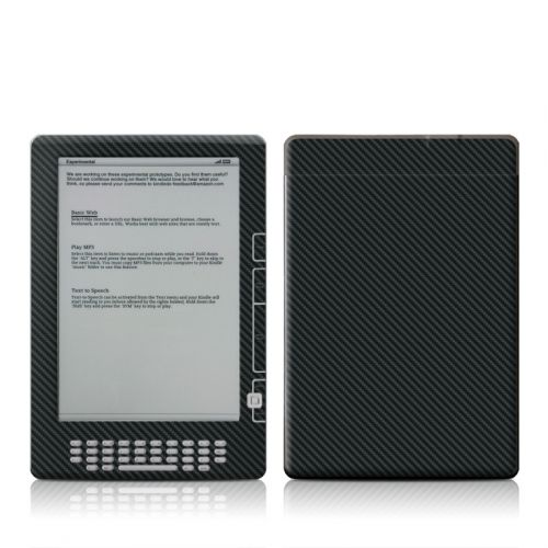 Carbon Fiber Amazon Kindle DX Skin