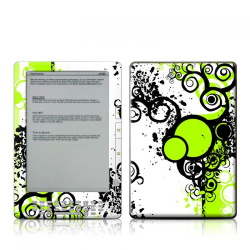 Simply Green Amazon Kindle DX Skin