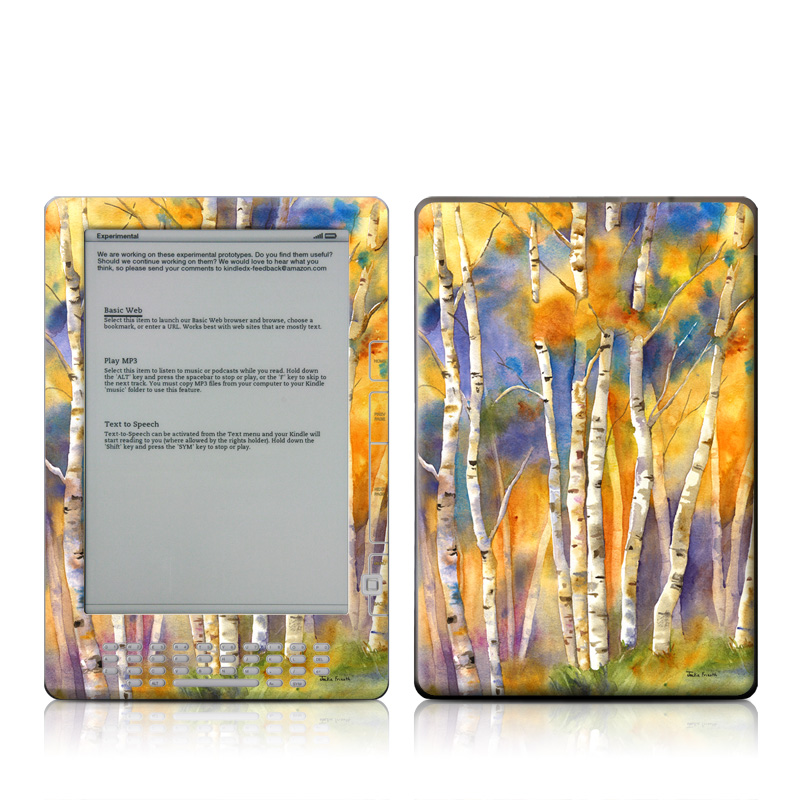 Aspens Amazon Kindle DX Skin