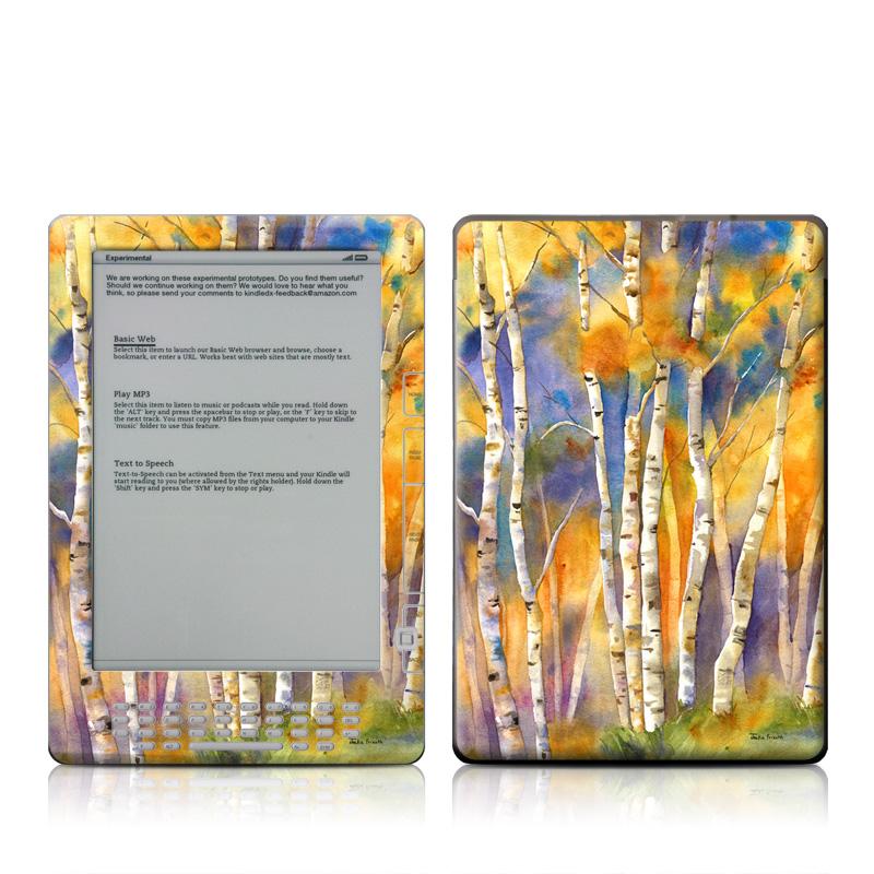 Aspens Amazon Kindle DX Skin