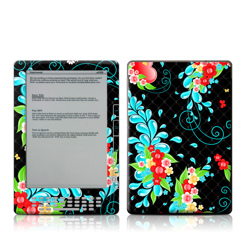 Betty Amazon Kindle DX Skin