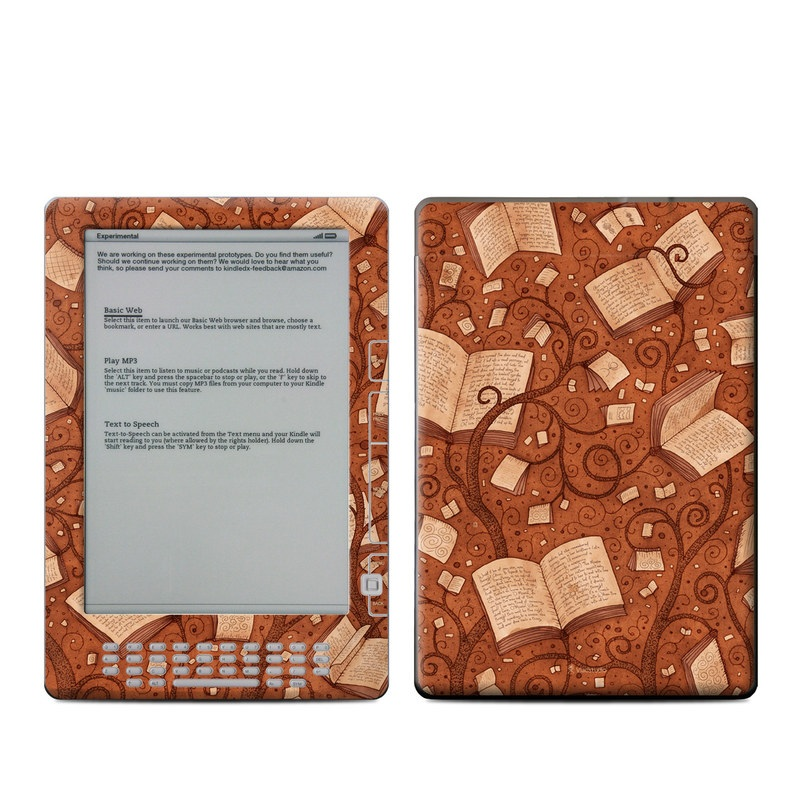 Books Amazon Kindle DX Skin