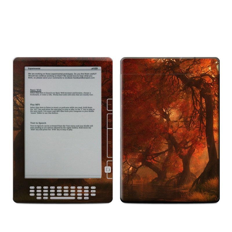 Canopy Creek Autumn Amazon Kindle DX Skin