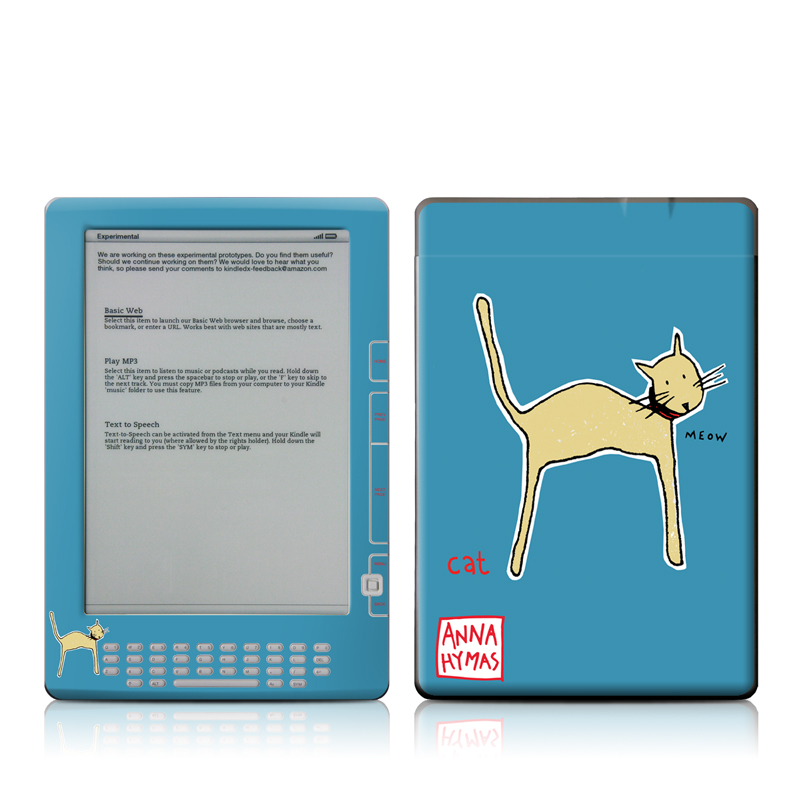 Cat Amazon Kindle DX Skin
