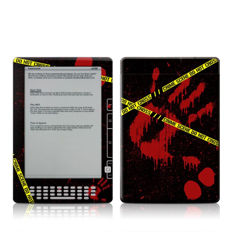 Crime Scene Amazon Kindle DX Skin