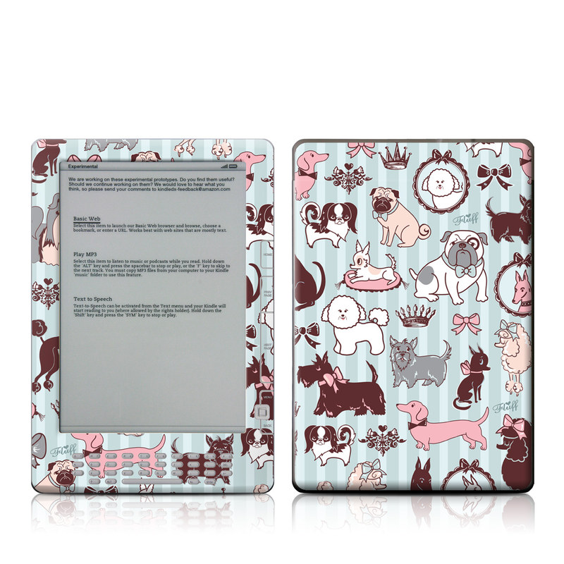Doggy Boudoir Amazon Kindle DX Skin
