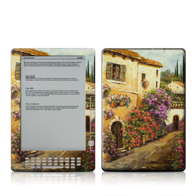 Via Del Fiori Amazon Kindle DX Skin