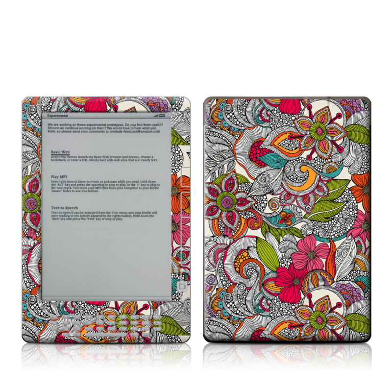 Doodles Color Amazon Kindle DX Skin