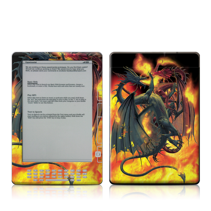 Dragon Wars Amazon Kindle DX Skin