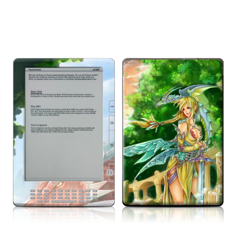 Dragonlore Amazon Kindle DX Skin