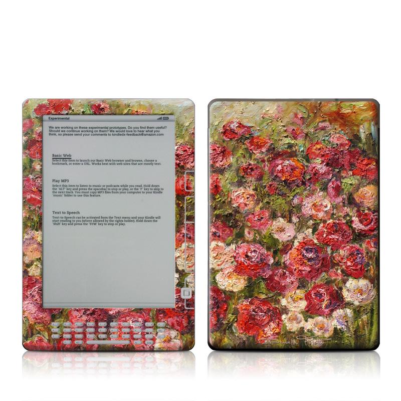 Fleurs Sauvages Amazon Kindle DX Skin