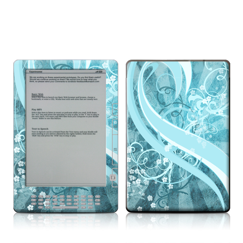 Flores Agua Amazon Kindle DX Skin