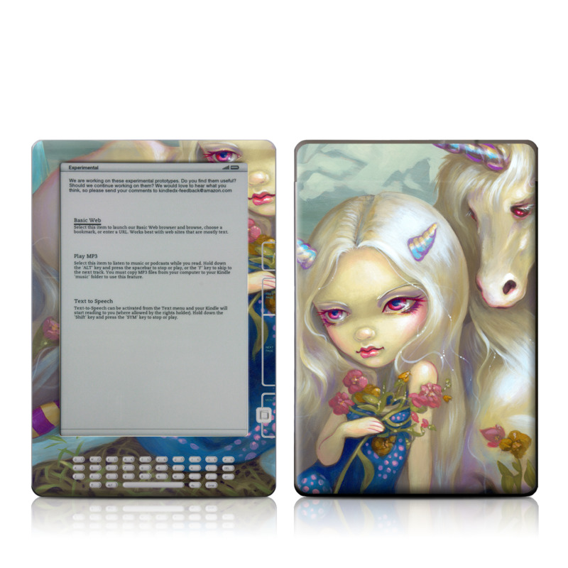 Fiona Unicorn Amazon Kindle DX Skin
