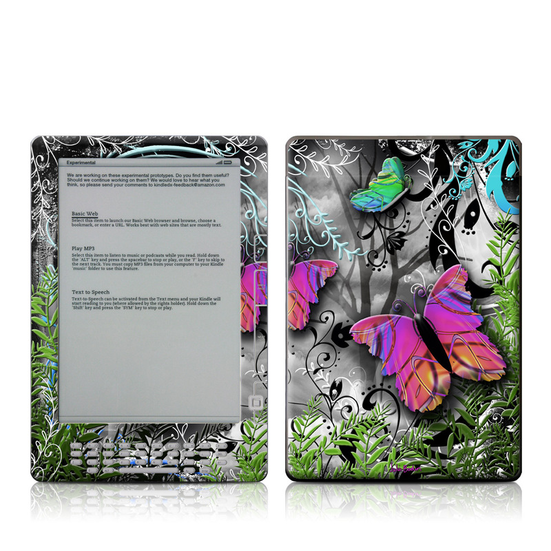 Goth Forest Amazon Kindle DX Skin