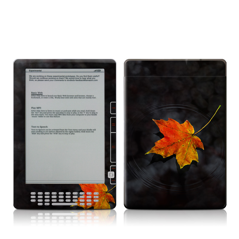 Haiku Amazon Kindle DX Skin