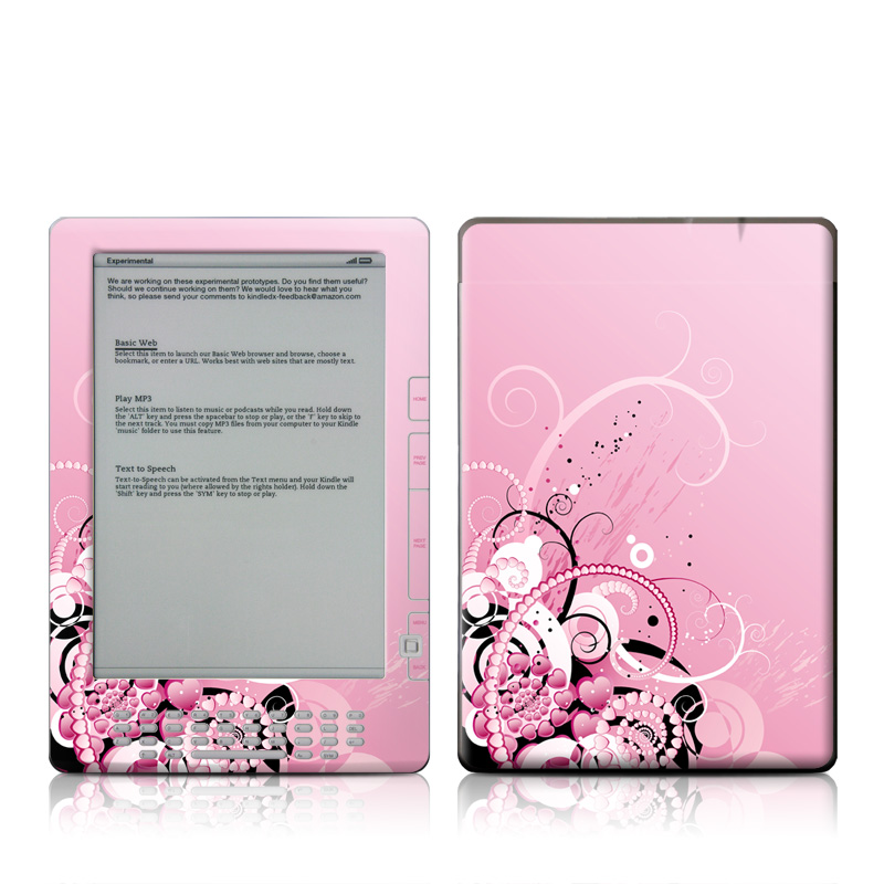 Her Abstraction Amazon Kindle DX Skin