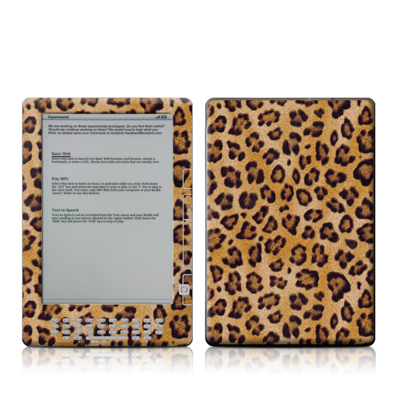 Leopard Spots Amazon Kindle DX Skin