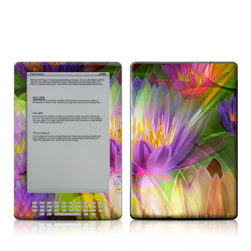 Lily Amazon Kindle DX Skin