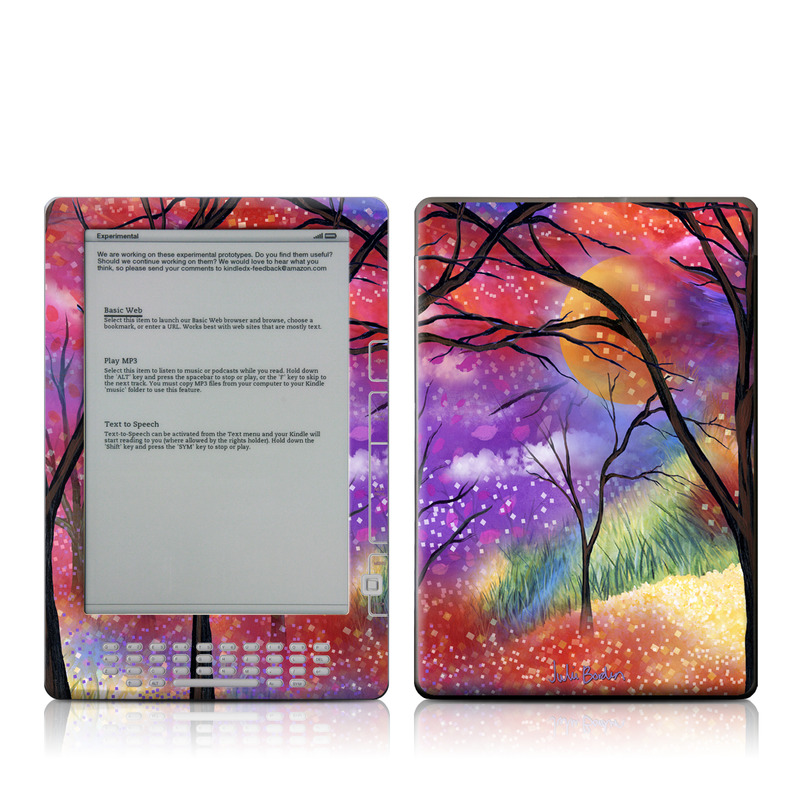 Moon Meadow Amazon Kindle DX Skin