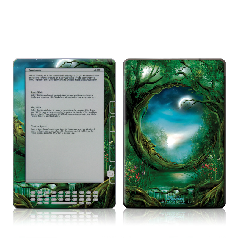 Moon Tree Amazon Kindle DX Skin