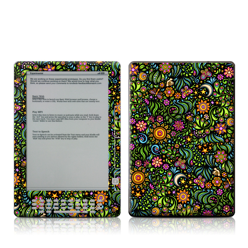 Nature Ditzy Amazon Kindle DX Skin